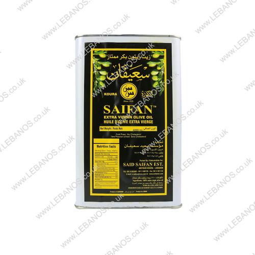 Extra Virgin Olive Oil/Tin - Saifan - 4x4ltr