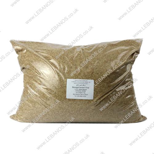 Bourgol Brown  Fine - Lebanos - 5kg