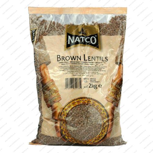 Lentil Brown - Lebanos - 2kg