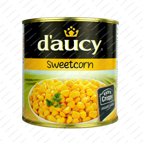 Sweetcorn Tins - Lebanos - 3x3kg