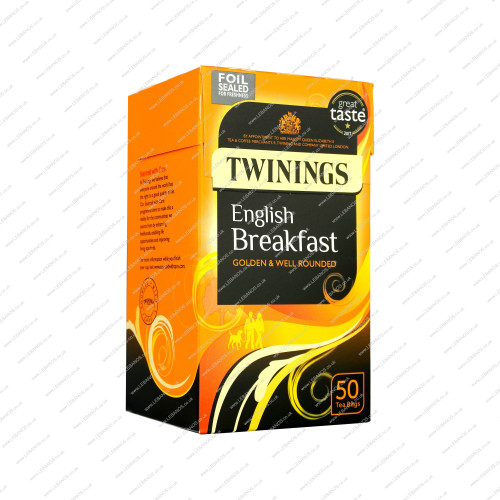 English Breakfast Tea - Twinings - 4x50s