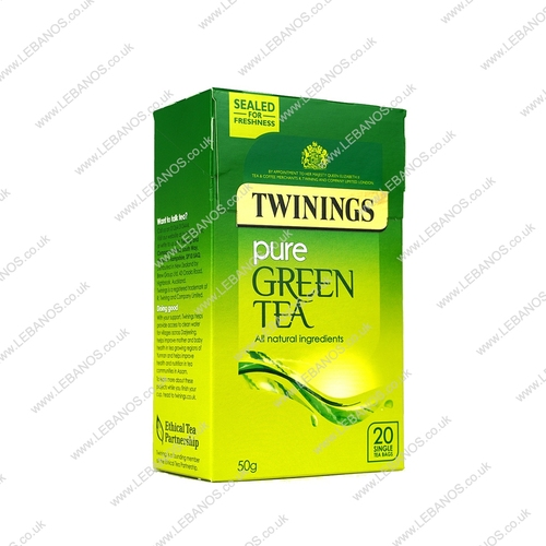 Green Tea - Twinings - 20sx4