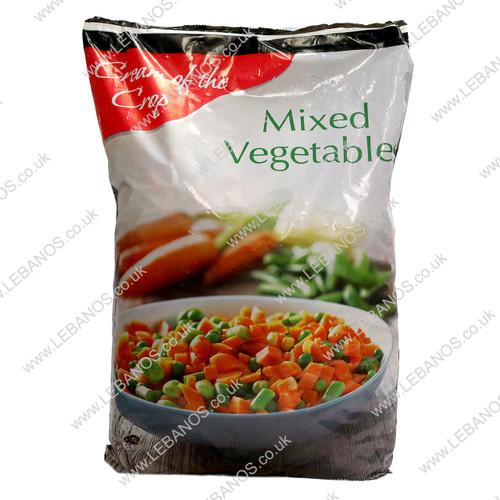 Mixed Vegetables Frozen - Cream of the Crop - 4 x 2.5kg