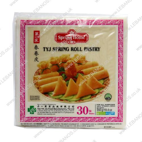 Spring Roll Pastry 10inch - Lebanos - 30x550g