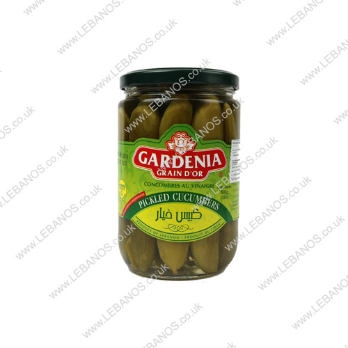 Pickled Cucumber - Gardenia - 12 x 600g