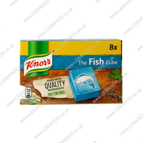 Fish Stock Cube - Knorr - 12 x 80g