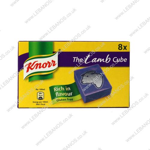 Lamb Stock Cube - Knorr - 12 x 80g