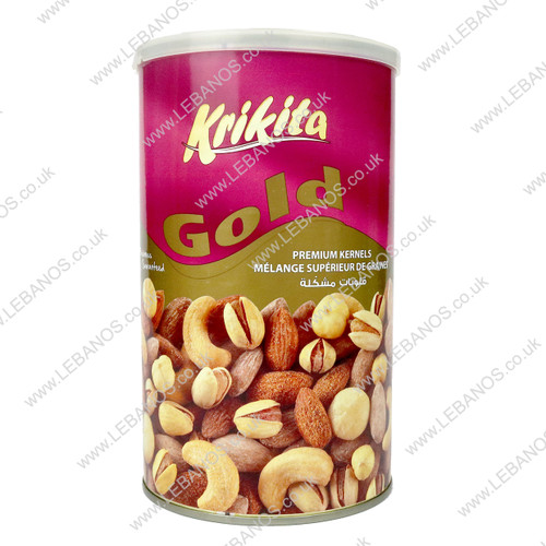 Gold Mix Nuts Tin - Krikita - 12 x 454g