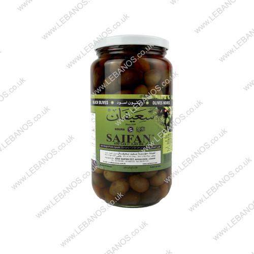Black Olives - Saifan - 12x650g