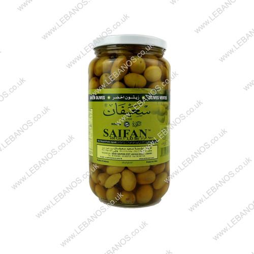 Green Olives - Saifan - 12 x 650g