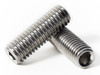 Stainless Metric Socket Set Screws - Cup Point