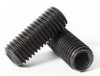 M8 x 1.25 Socket Set Screws - Cup Point