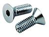 5/16-24 Chrome Flat Head Socket Cap Screw