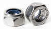 Stainless Metric Nylon Insert Lock Nuts Fine Pitch