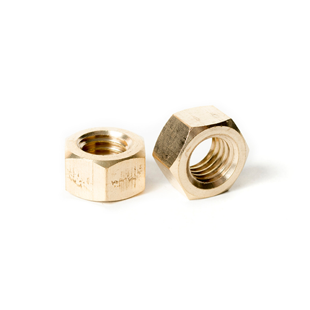 Stainless Steel Fine thread thin jam half height Hex Nuts 7//16-20 Qty 25