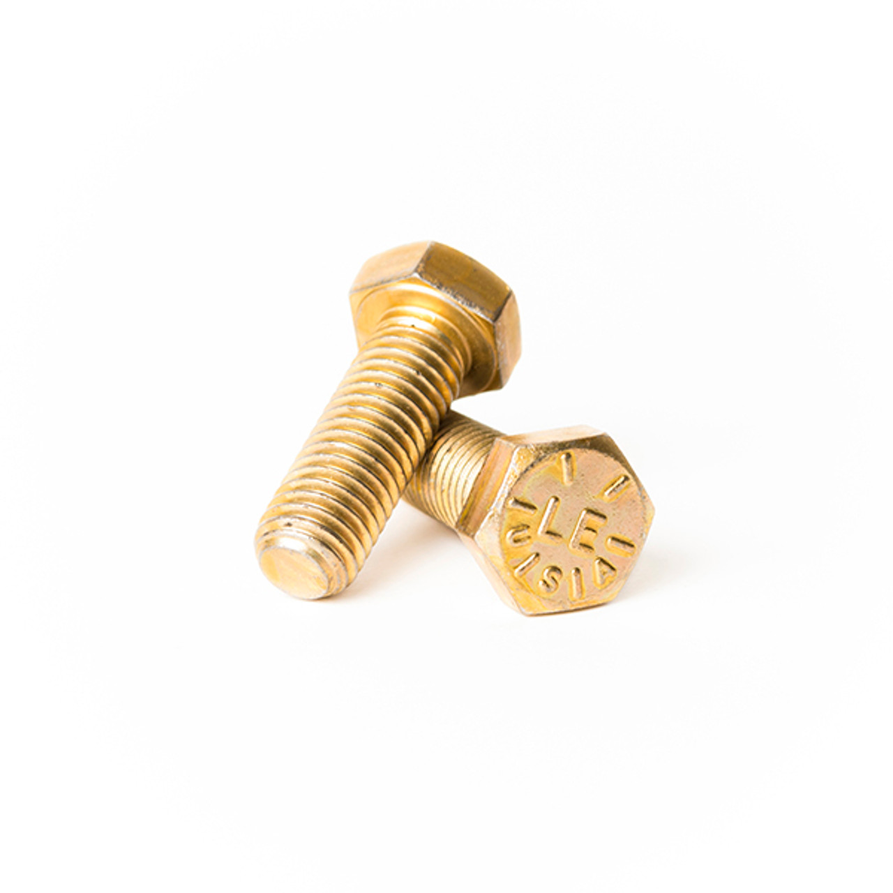 5//16-18 x 4 Coarse Thread Hex Cap Screw Brass Bolt
