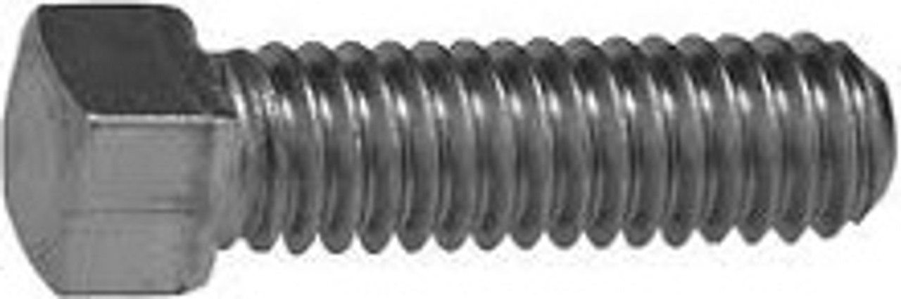 Set Screws Steel 40 pcs Square Head Cup Point Full Thread 7//8-9 X 4-1//2
