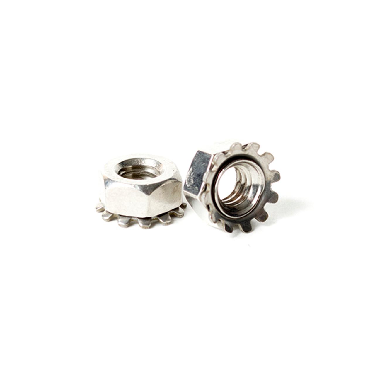 Stainless Steel 10-32 Keps Nuts K-Locks Qty 1000
