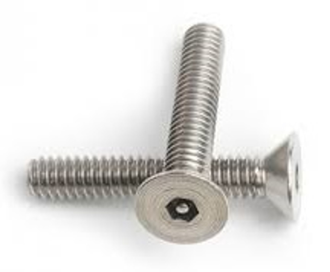 3/8-16 x 3/4 Flat Head Socket Security Screw Stainless