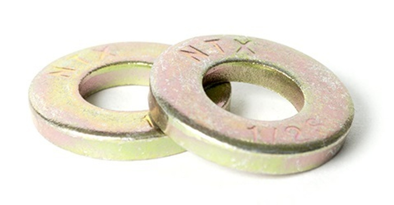 1//2 Extra Thick Heavy Duty Flat Washers 10 Pieces 18-8 Steel 10