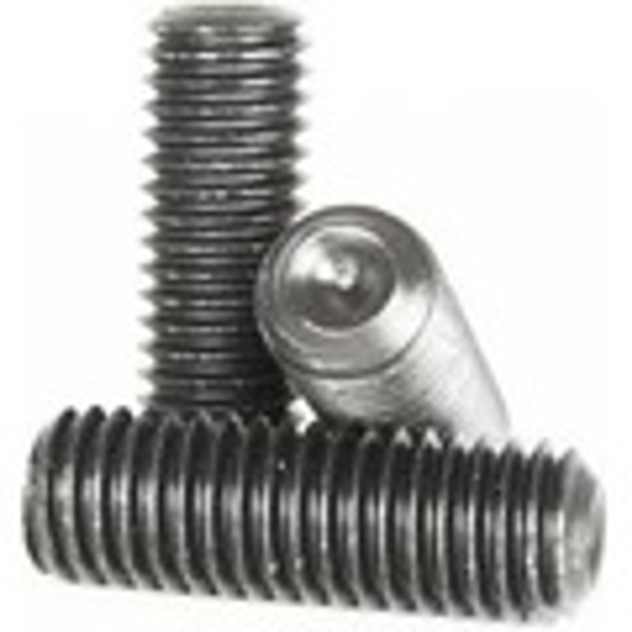 "3//8/""-16 x 1//4/"" Coarse Thread Socket Set Screw Cup Pt Black Oxide"