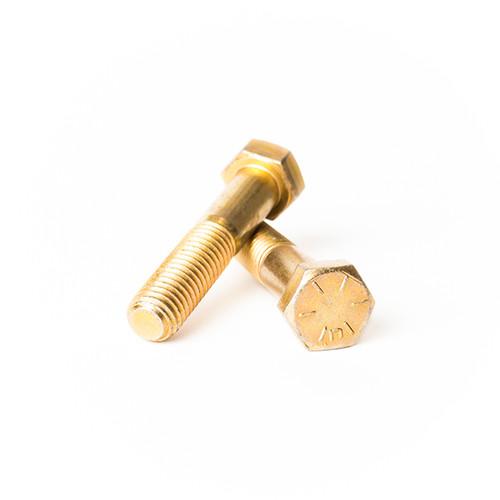 2-12 Thread Size 2-12 Thread Size Fastcom Supply Small Parts FSC24FHN8Y High-Strength Steel Hex Nut Grade 8