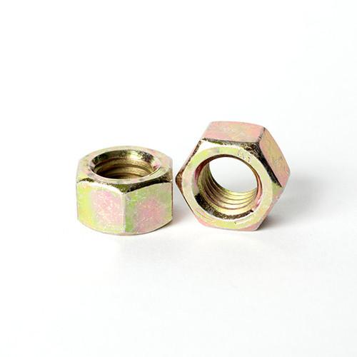 Qty 25 3//8-24 Fine Grade 8 Nylon Insert Lock Nuts Nylock Yellow Zinc Plated