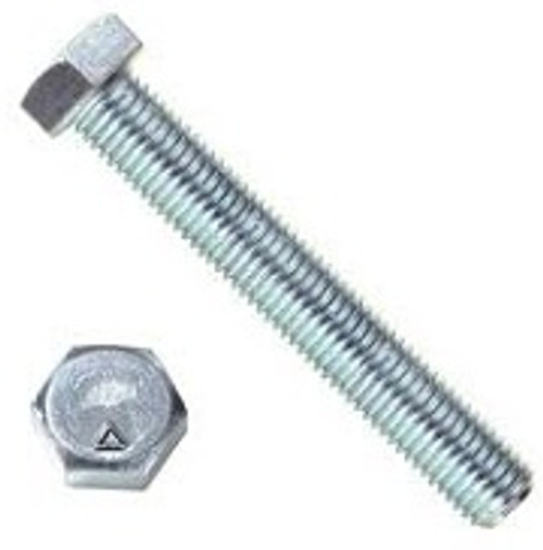 4 Long Pack of 10 5//16-18 Thread Size Small Parts FSC5164CB5Z Round Grade 5 Square-Neck Carriage Bolt Zinc Plated Hex Steel