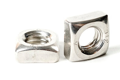 M5 M6 M8 Metric Nuts Stainless Steel Square Nuts