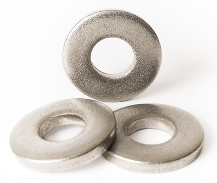 Stainless Steel Flat Washers 5//8 x 1-1//2 25 each