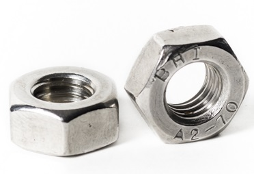 Dimensioni : 20pcs M6 Nologo Hex Nut Stainless Steel Nut Hexagon Nut Stainless Steel