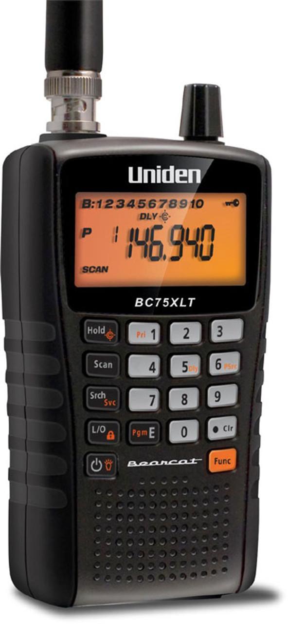 UNIDEN BC75XLT 300 Channel Handheld Scanner