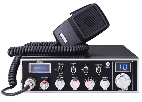 Galaxy 45 Watts 10 Meter Radio w/Talk Back and Echo - HiTech