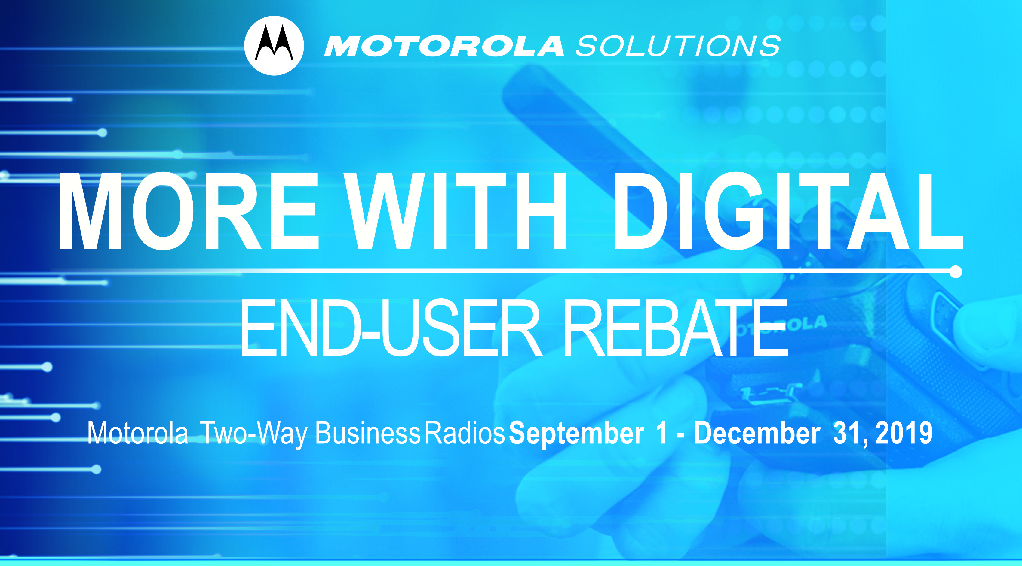 Motorola Fall More with Digital Rebate