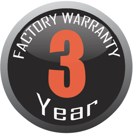 Vertex 3 year warranty