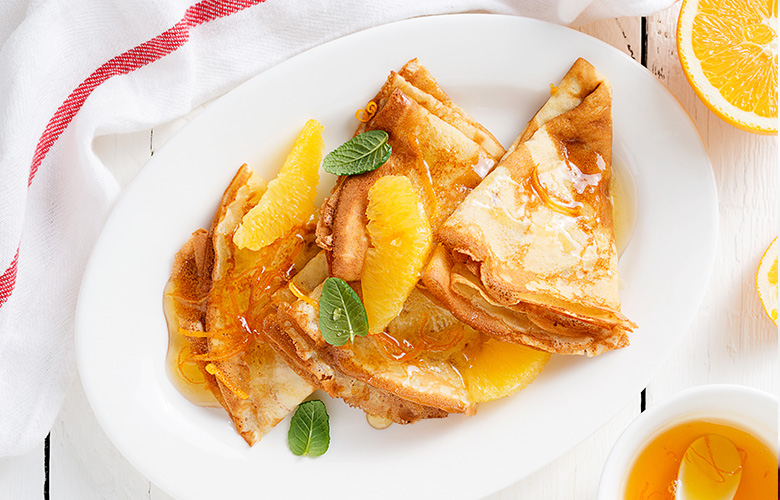 Crepes Suzette My French Recipe