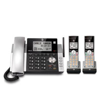 2 Handset Corded Cordless Answering Sys