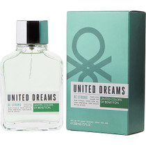 Benetton United Dreams Be Strong By Benetton Edt Spray 6.75 Oz
