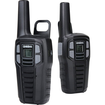 Uniden Sx167-2ch 16-mile 2-way Frs/gmrs Radios (2 Pk; With 6 Batteries)