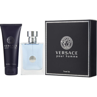Versace Signature By Gianni Versace Edt Spray 3.4 Oz & Hair And Body Shampoo 3.4 Oz (travel Offer)
