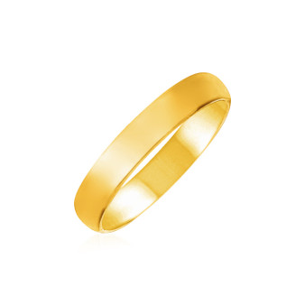14k Yellow Gold Comfort Fit Wedding Band