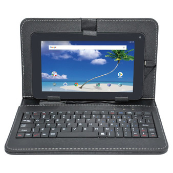 Proscan(r) Plt7775g (k-1gb-8gb) 7-inch Android 8.1 Quad Core Tablet With Case, Keyboard, And Camera