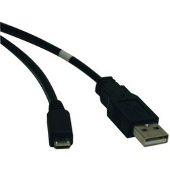 Tripp Lite Usb 2.0 A-male To Micro B-male Cable (10ft)