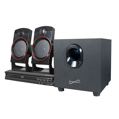 Supersonic 2.1 Channel Dvd Home Theater System