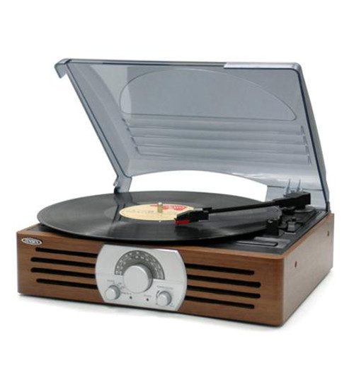 3-speed Stereo Turntable With Am/fm Ster