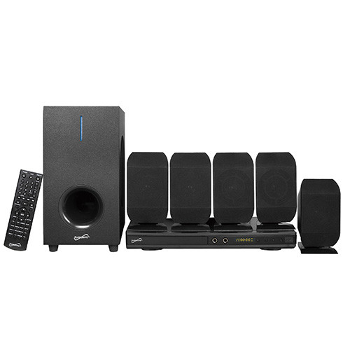 Supersonic 5.1 Channel Dvd Home Theater System W/ Karaoke Function