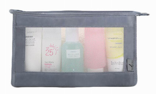 Quick Dry Mesh Shower Caddy Shower Tote Shower Bag For Travel, Gray
