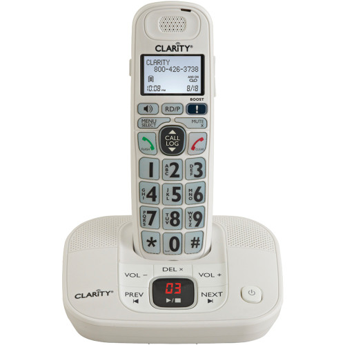 Clarity 53714 Dect 6.0 Amplified Cordless Phone With Digital Answering System