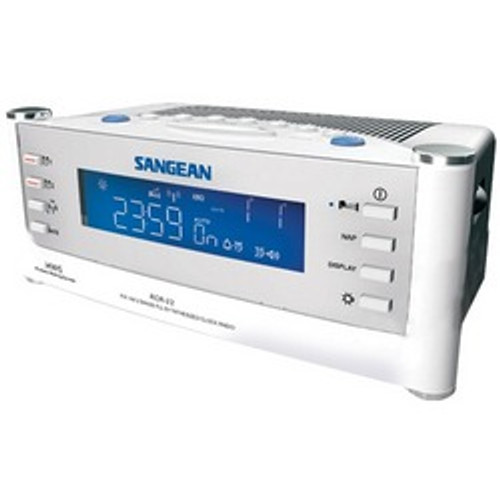 Sangean Am And Fm Atomic Clock Radio With Lcd Display