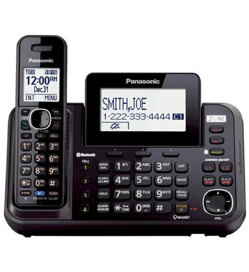 2-line Cordless, Link To Cell, Usb